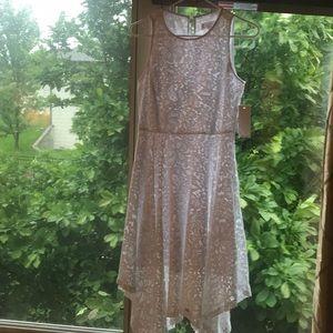 Nannette Lepore white midi dress